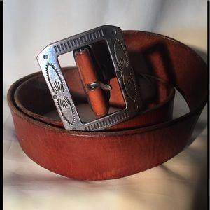 Polo  genuine leather belt